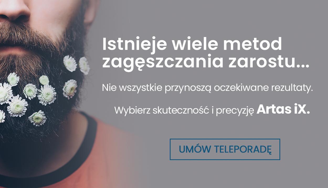 przeszczep brody iwąsów Warszawa